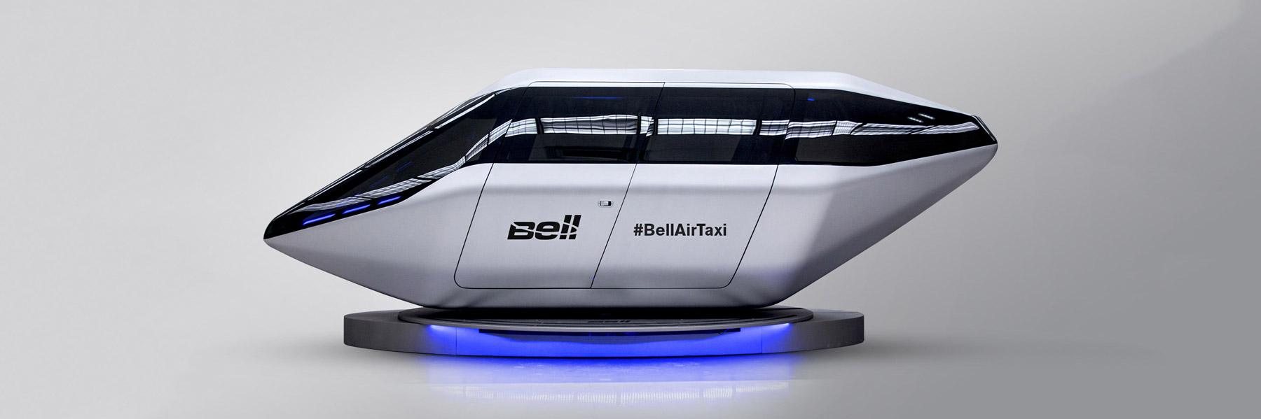 bell helicopter uber air taxi ces 2018 designboom 1800 - بالصور: التاكسي الطائر من أوبر يظهر في معرض الإلكترونيات الاستهلاكية 2018