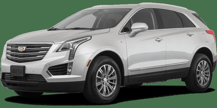 2019 Cadillac XT5 silver full color driver side front quarter - سيارات كاديلاك المقبولة في أوبر Cadillac